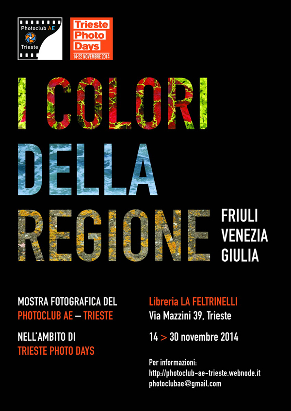 """#TPF - Mostra """"I colori della Regione"""""""