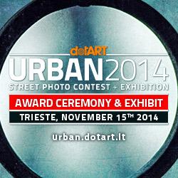Inaugurazione mostra e premiazione del concorso URBAN 2014