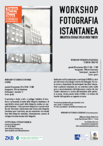 LOCANDINA officina workshop nov2014