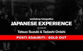 Japanese Experience: workshop fotografico con Tatsuo Suzuki e Tadashi Onishi