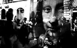 """Surreal Shop Windows"" - Antonino Orlando & Collective Exposition @ Aqvedotto Caffè"